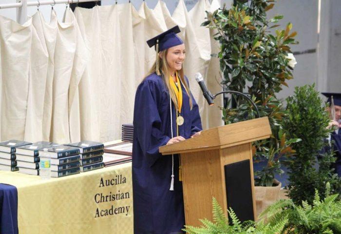 Emily Brock Aucilla valedictorian